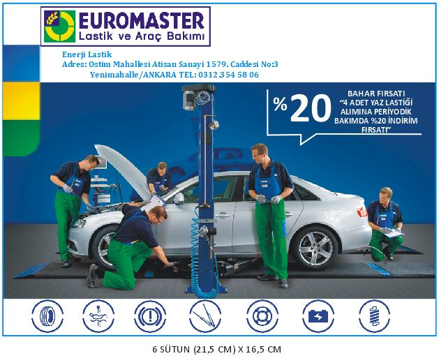 ankara euromaster hürriyet ilan