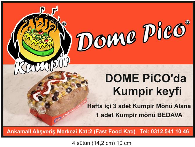 dome pico ankara kumpir keyfi